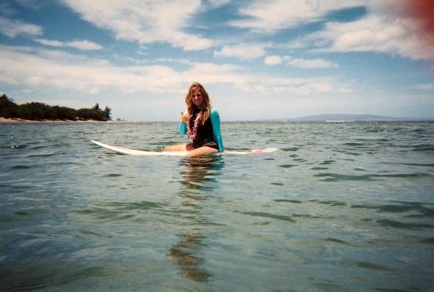 Shaka on Surfboard
