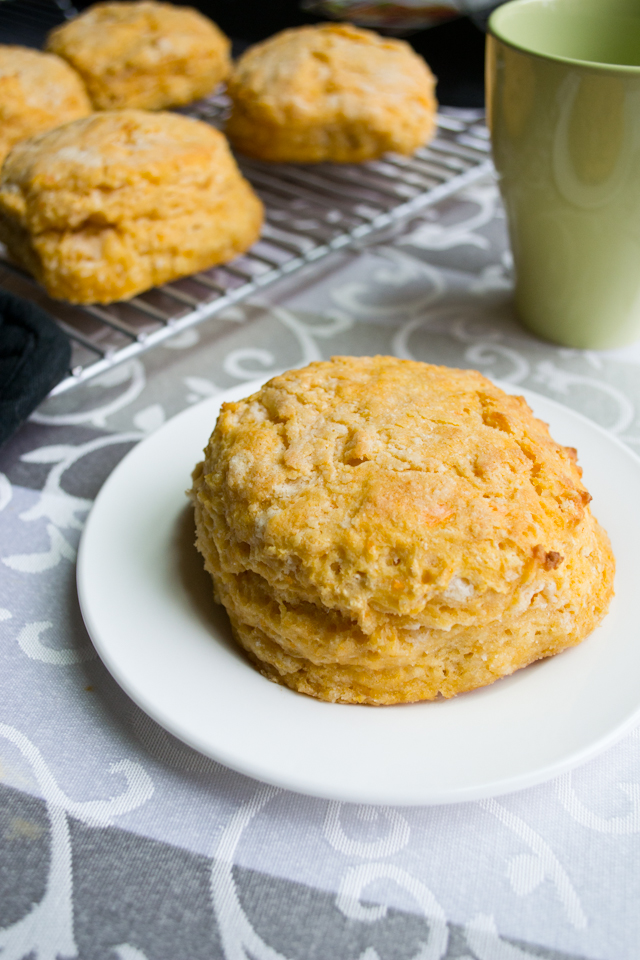 Sweet Potato Biscuits from A Dash of Soul