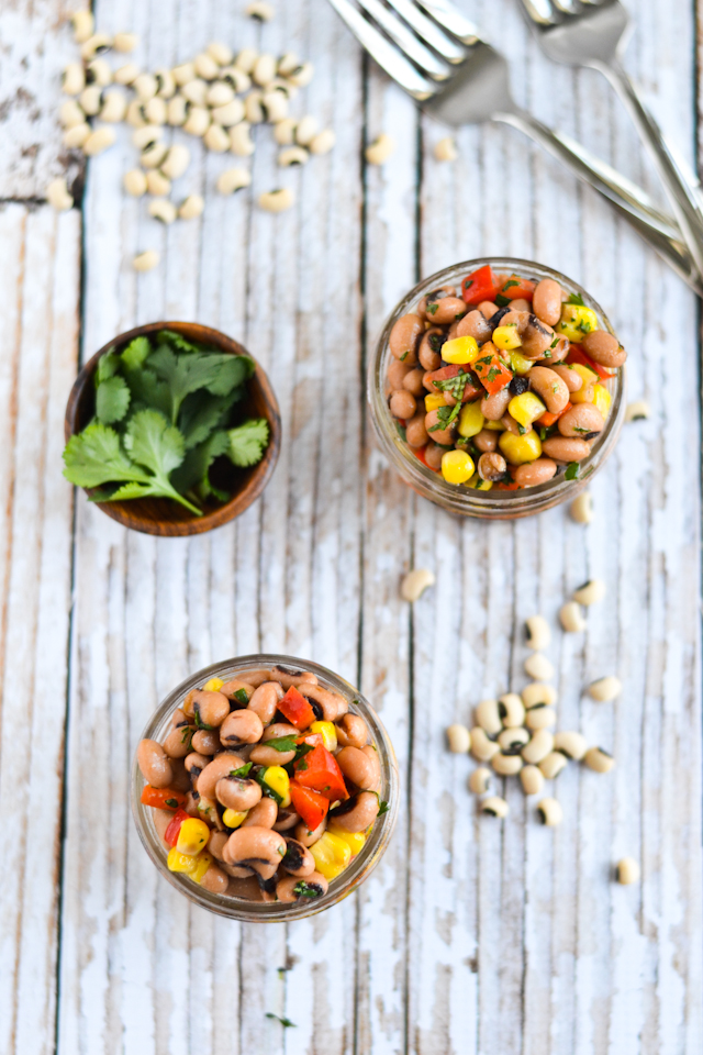 Zesty Black-Eyed-Pea Salad | A Dash of Soul