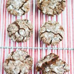 Vegan Chocolate Crinkle Cookies (Blogmas Day 12)