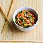 Teriyaki Zucchini Noodles (VIDEO!)