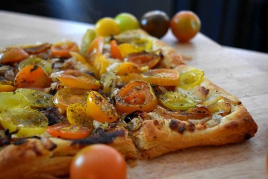 Tomato Tart Slices Recipe - ADOS