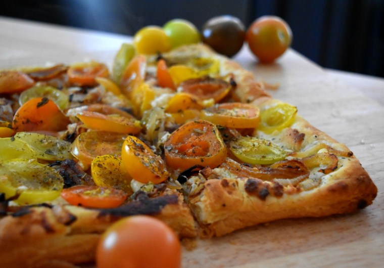 Tomato Tart Slices Recipe - ADOS
