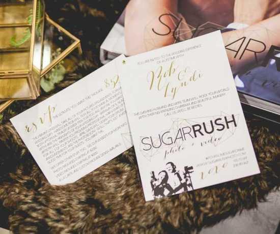 Sugarrush Logo Design by April Davis