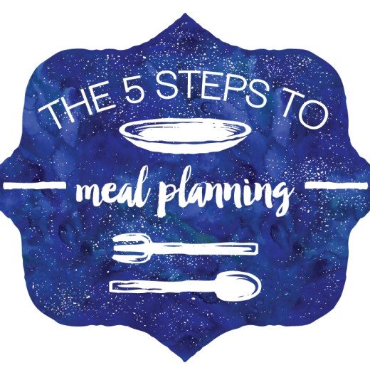5 STEPS TO EFFECTIVE WEEKLY MEAL PLANNING