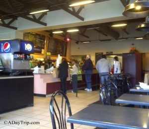 Waiting in line at the Back Bay Bagel Company Brockton MA