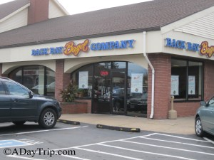 The Back Bay Bagel Company in Brockton, MA from the outside