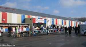 Raynham Flea Market - outside view