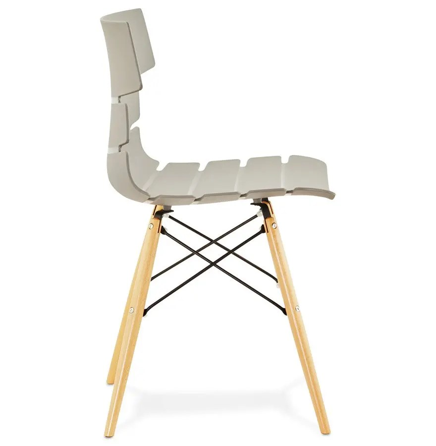 Chaise Moderne Sofy Grise Style Scandinave Addesign