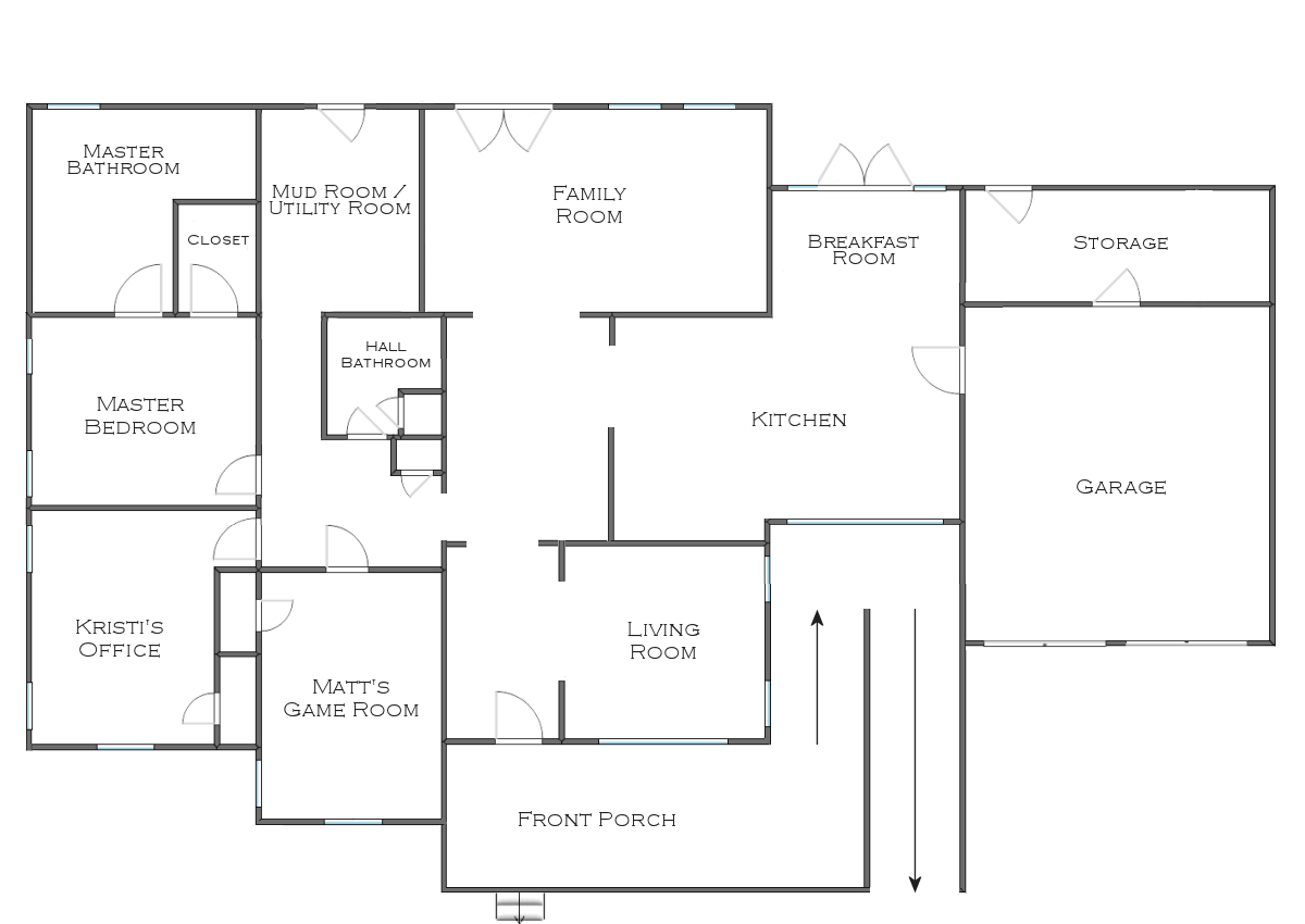 Floor Plan Idea The Finalized House Floor Plan Plus Some Random Plans And