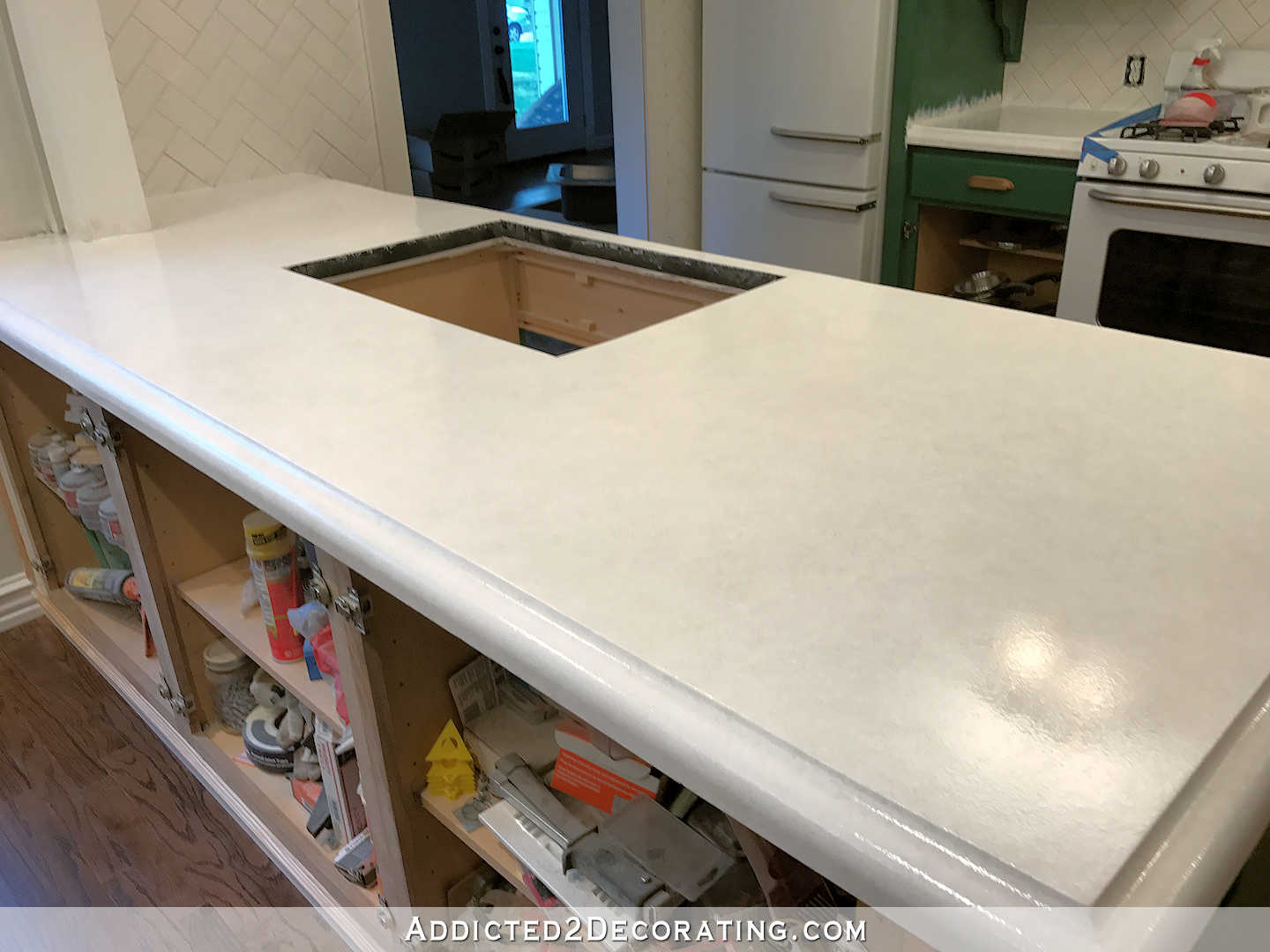 Concrete Countertops Book Refinishing Concrete Countertops Part 3 Of 3 Addicted 2