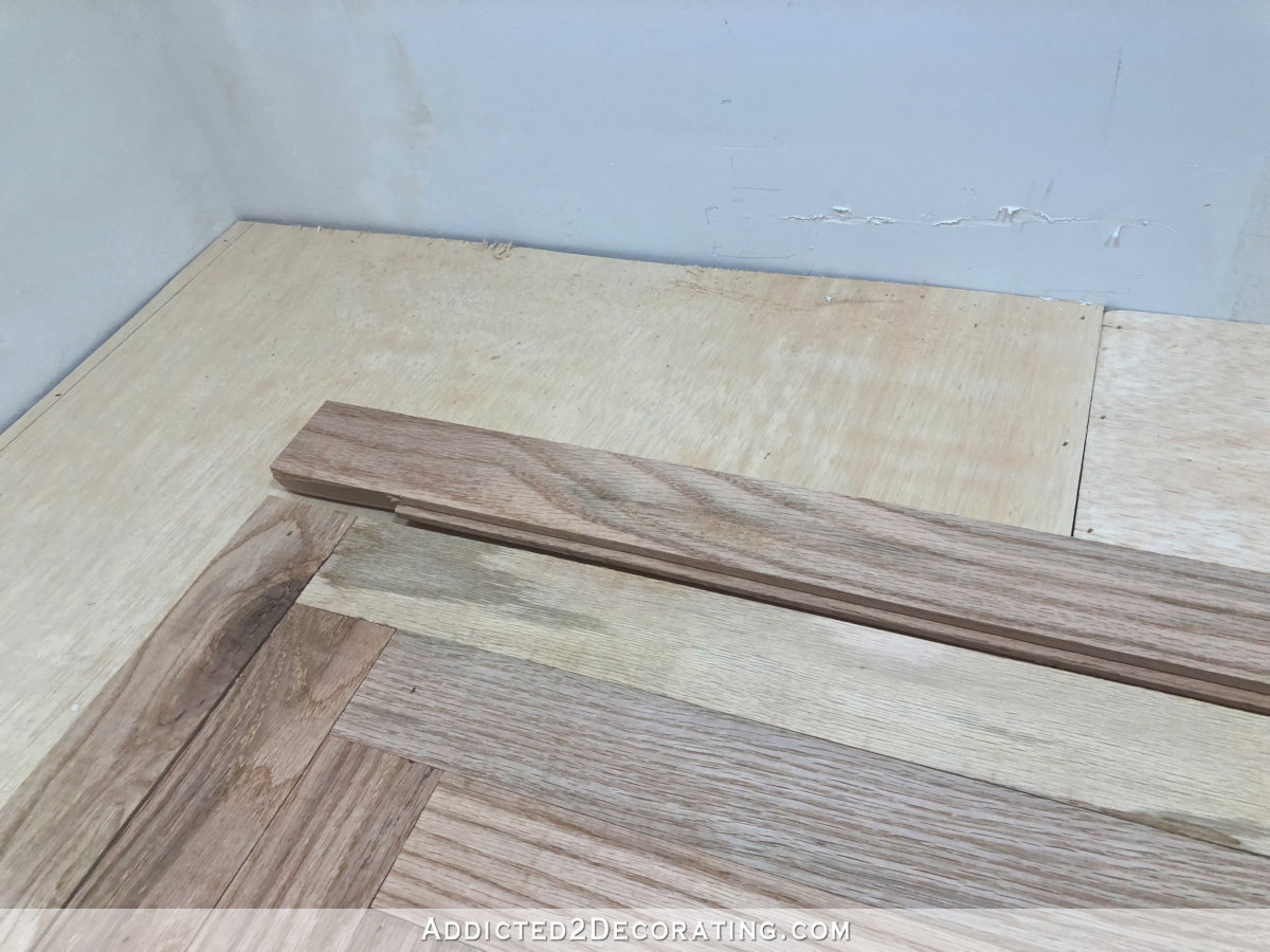 Oak Plywood Diy Butcherblock Style Countertop Made From Red Oak Solid Hardwood