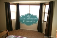 DIY Bay Window Curtains - Addicted 2 DIY