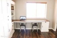 DIY Modern Farmhouse Murphy Bed - How To Build The Desk ...
