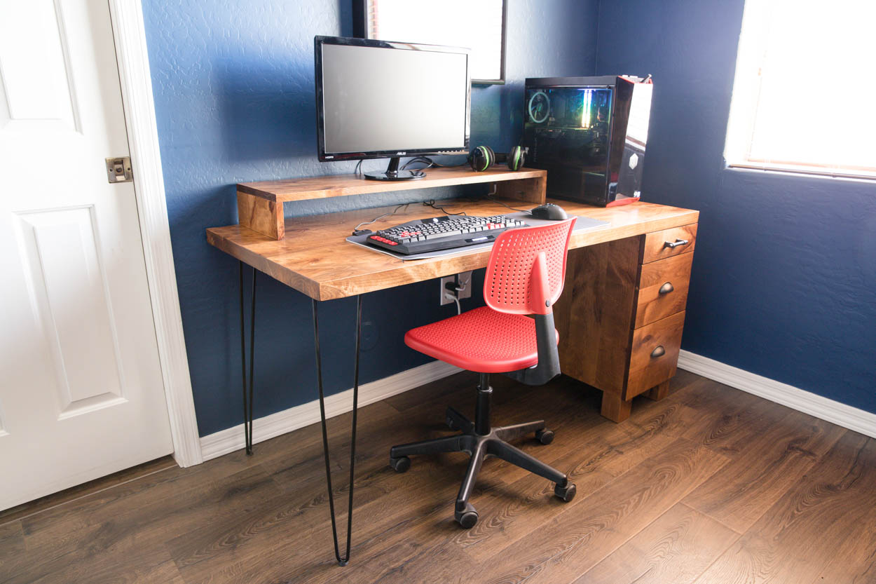 Gaming Computer Desk How To Build Your Own Addicted 2 Diy