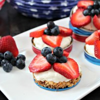 Small Batch Fruit Tarts