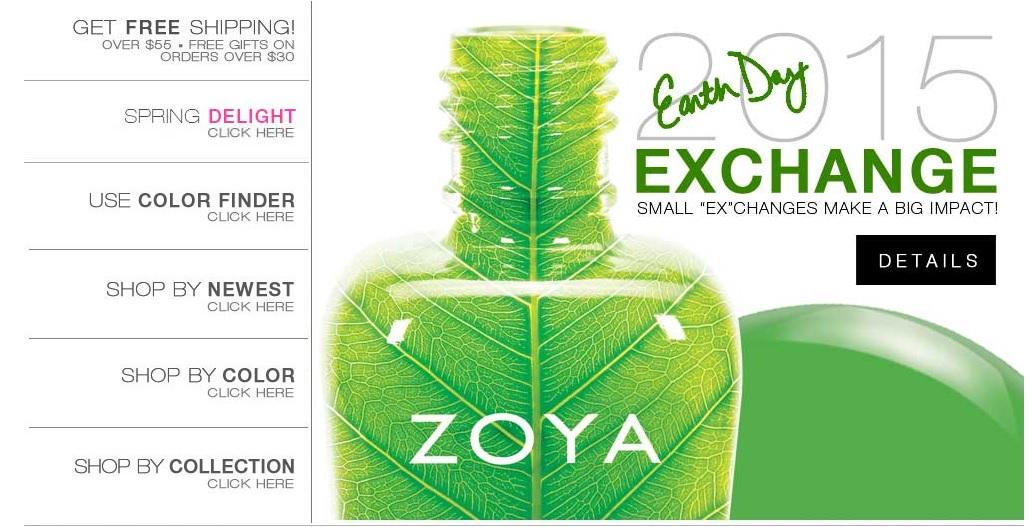 Zoya Earth Day Sale!