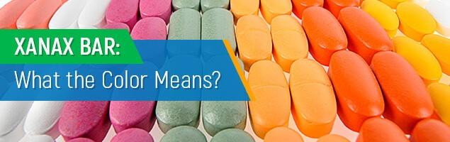 Xanax Bars What Do The Different Colors Mean?