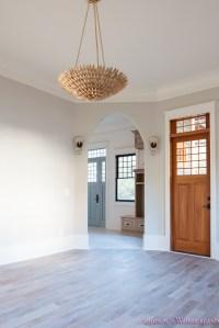 living-room-light-gray-walls-grey-gold-chandelier-black ...