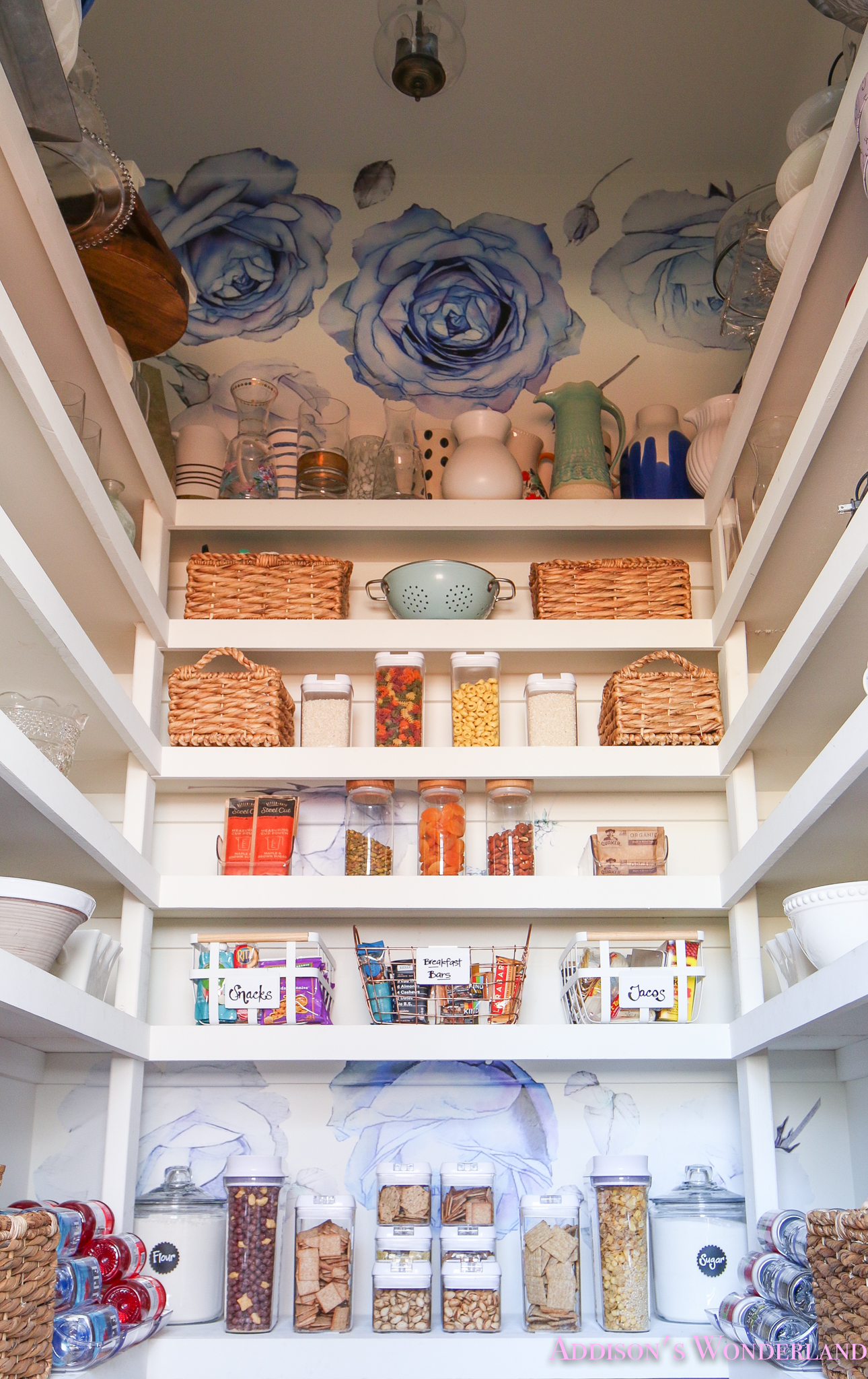 Pantry Organization Ideas From Our Colorful New Pantry