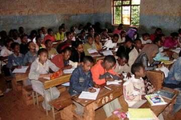 School in Ethiopia