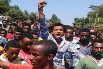oromo students fresh protest