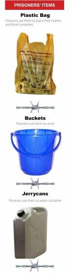 Prisoners items