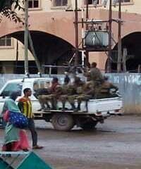 Gondar heavy security