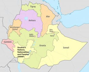 Administrative regions in Ethiopia