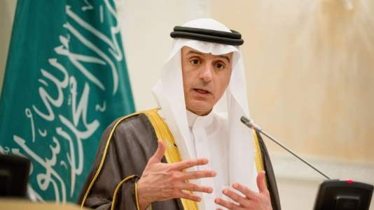 Saudi Foreign Minister Adel al-Jubeir, speaks during a joint new conference with U.S. Secretary of State John Kerry, at Riyadh Air Base in Saudi Arabia, Thursday, May 7, 2015. Kerry sought to secure a pause in Yemen's war after he arrived to Saudi Arabia to meet with the king and other top officials, citing increased shortages of food, fuel and medicine that are adding to a crisis that already has neighboring countries bracing for a mass exodus of refugees. (AP Photo/Andrew Harnik, Pool)