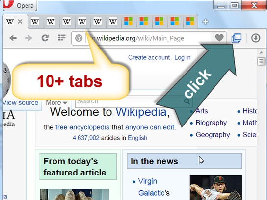 Group Your Tabs extension - Opera add-ons