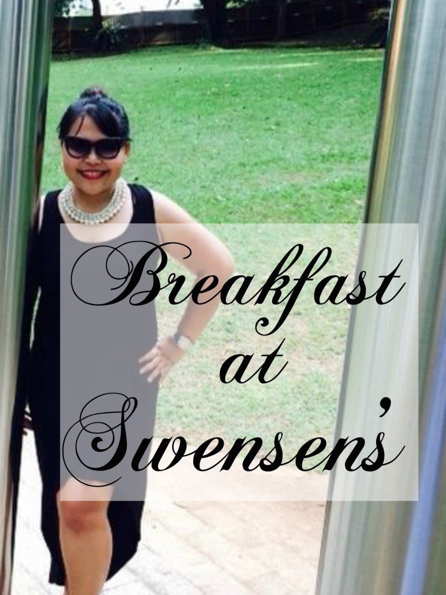 Breakfast at Swensen's {Foodee}