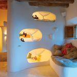 adelaparvu.com despre casa de piatra cu pereti curbi din lut, designer Alexandre de Betak, Foto TMagazine (4)