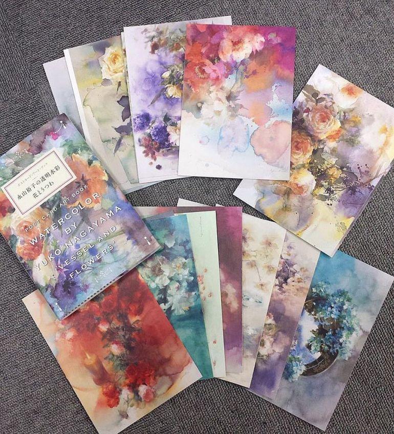 adelaparvu.com au sujet des peintures à l'aquarelle, l'artiste Yuko Nagayama (21)