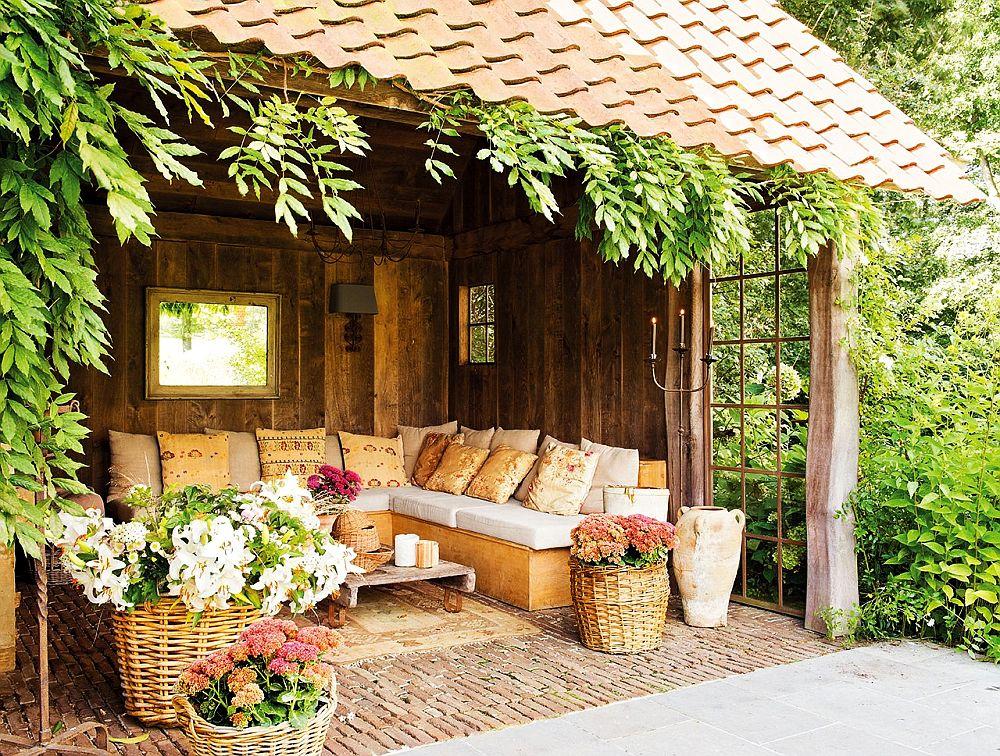 adelaparvu.com despre terase acoperite si chioscuri in gradina Foto ElMueble