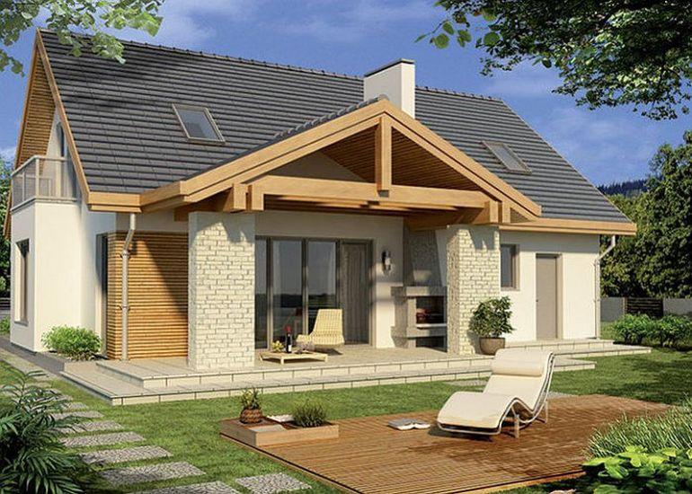 Proiecte case mici si ieftine proiect casa economica a for Modele de case mici