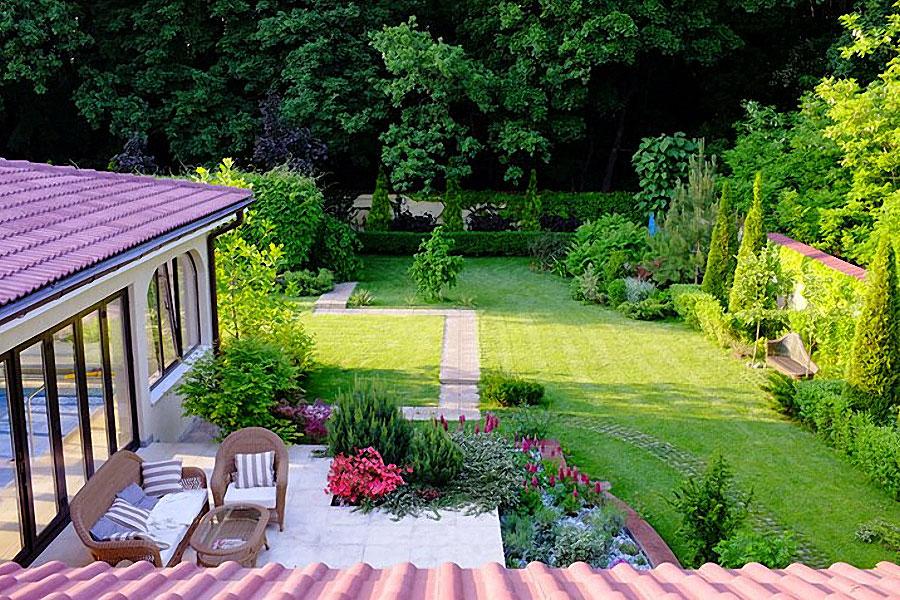 adelaparvu.com despre amenajare gradina Padurea Baneasa, arhitect Sorin Ciorapciu, Babylon Garden (1)