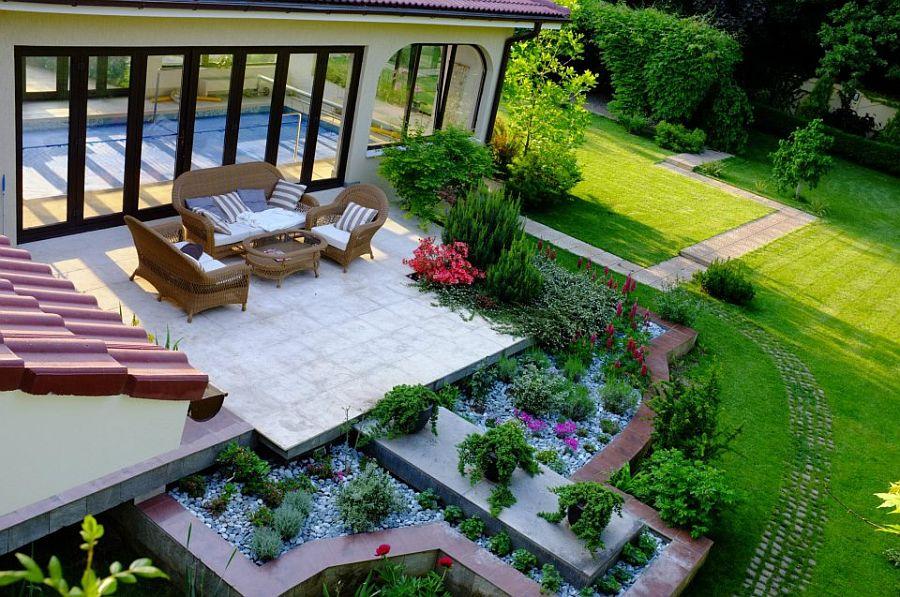 adelaparvu.com despre amenajare gradina Padurea Baneasa, arhitect Sorin Ciorapciu, Babylon Garden (10)