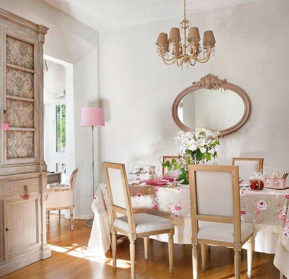adelaparvu.com despre apartament romantic, amenajare in stil provensal, Foto ElMueble (4)
