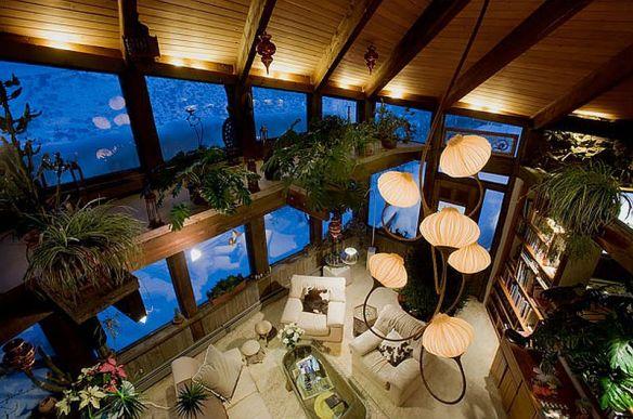 adelaparvu.com despre casa circulara in Aspen, casa SUA, foto NYT, Michael Brands (3)
