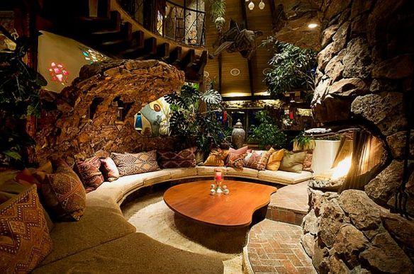 adelaparvu.com despre casa circulara in Aspen, casa SUA, foto NYT, Michael Brands (7)