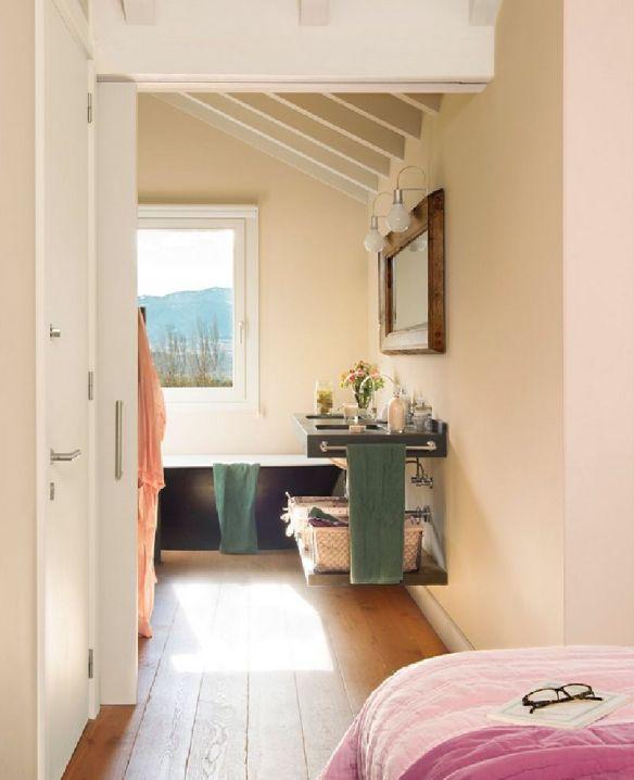 adelaparvu.com despre casa in Pirinei, casa Spania, decorator Patricia Pratmarsó, Foto ElMueble (11)