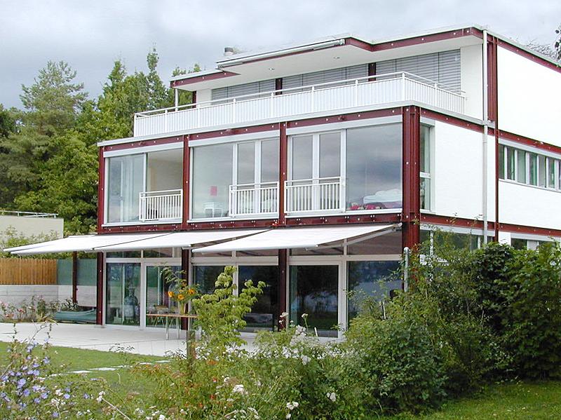 adelaparvu.com despre balcoane modulare din metal, Foto Reichmuth Rueegg  (2)