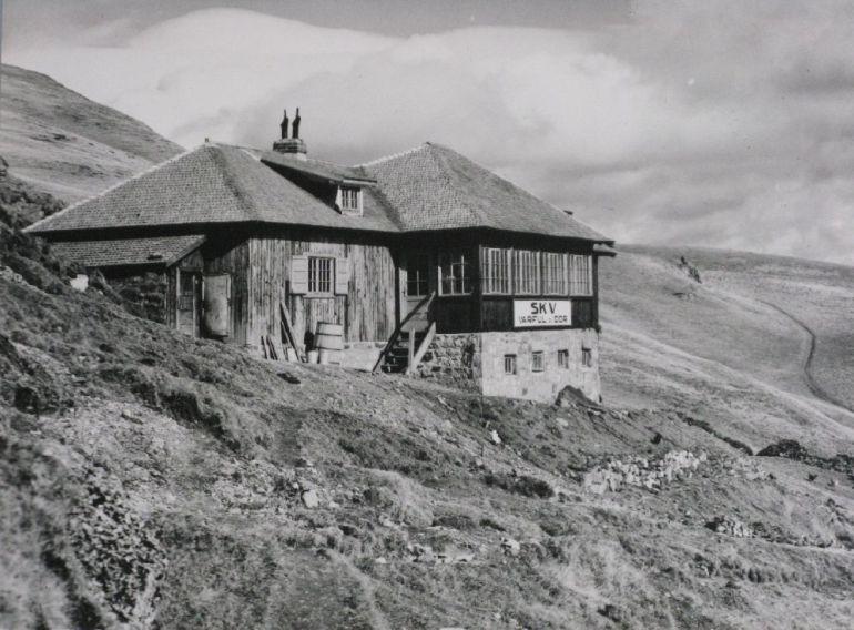 Copyright Alpin Photo Festival 2016, Predeal, Cabana SKV Varful cu Dor, 1930