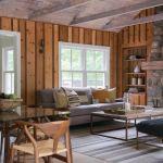 adelaparvu.com despre casa din lemn cu interior rustic actual, Design Kelly Mittleman, arch Mark Finlay, Foto Jane Beiles (21)