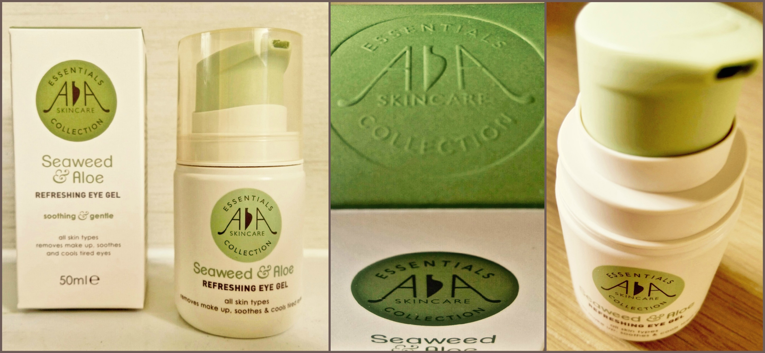 Aloe Vera Essen Beauty Aa Skincare Seaweed Aloe Refreshing Eye Gel Review