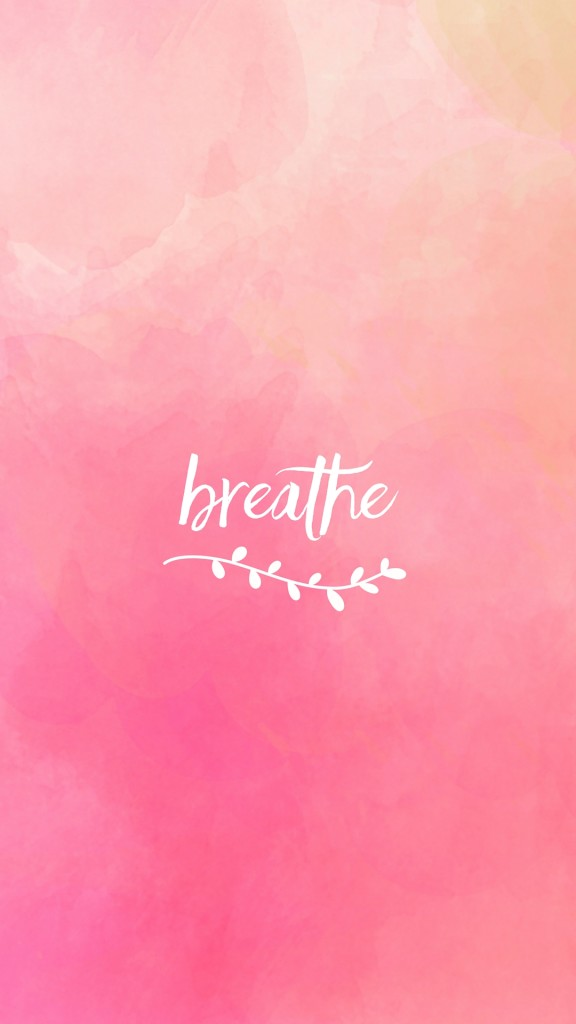 Live Wallpaper On Home Screen For Iphone X Just Breathe Plus Free Lock Screens To Help You Stay