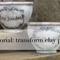 Garden Pots Transformed