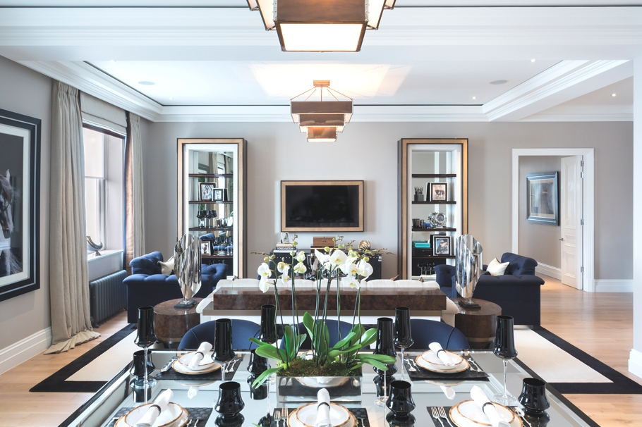 Miami Interior Designers Luxury Residential Development - The Russell, London