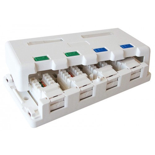 Surface Mount Boxes Cat5e And Cat6 From 320 Adept